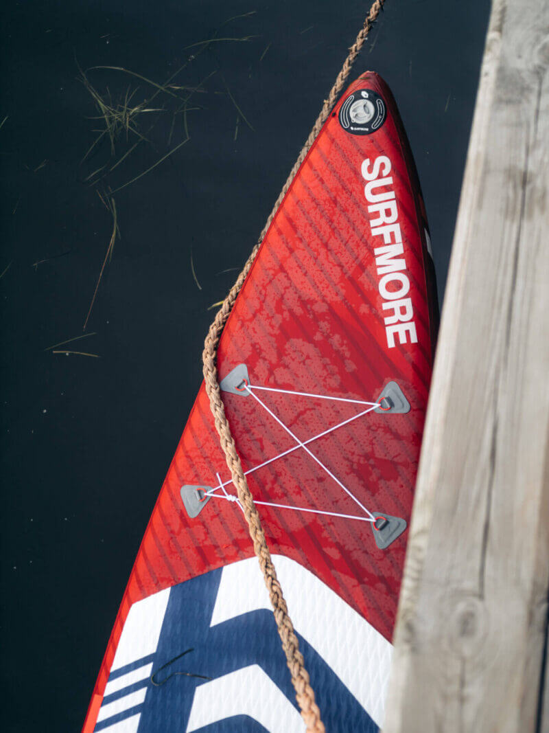 Sup board - oppustelig sup - Touring 11'6 x 31 x 6 - Surfmore - Rød - 3