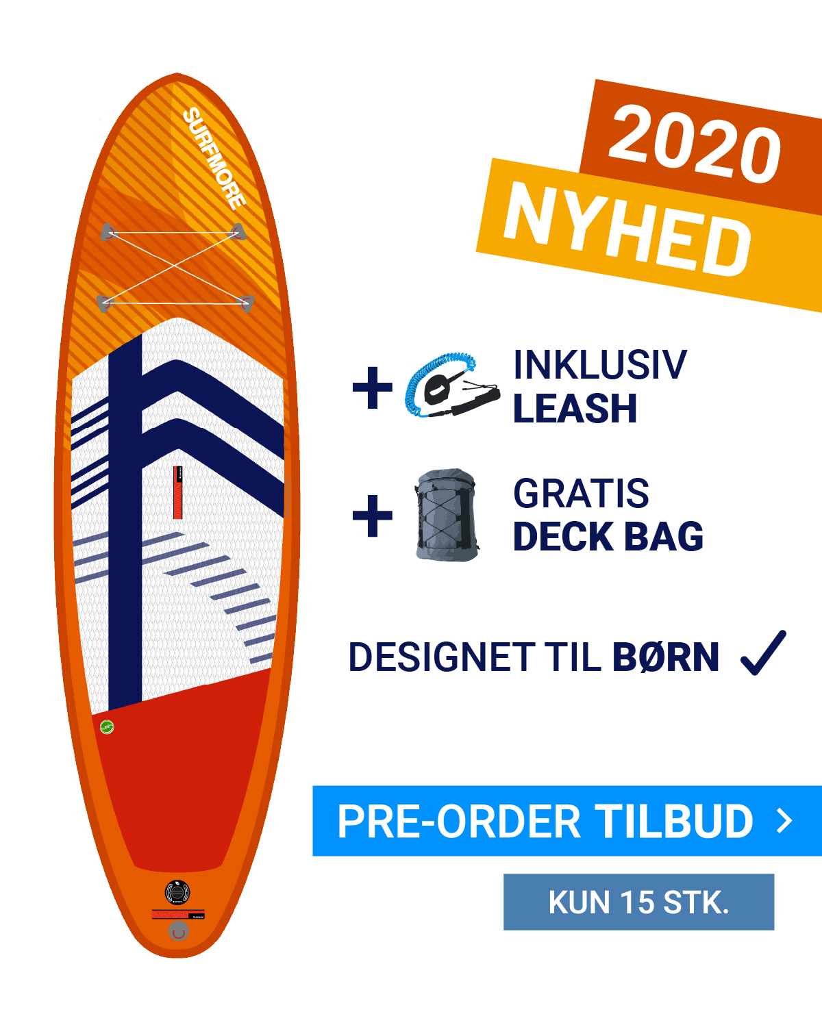Image of   SUP board - KIDS 7'6 x 30