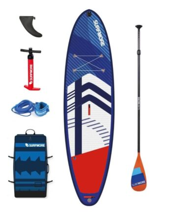 sup board - oppustelig sup - Surfmore -all round family edition -102x33-800x1000