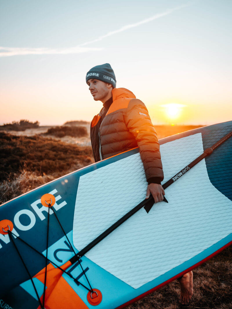 Sup board - oppustelig sup - Surfmore - Allround-Family-Edition-11'2-x-33-RØD - 1