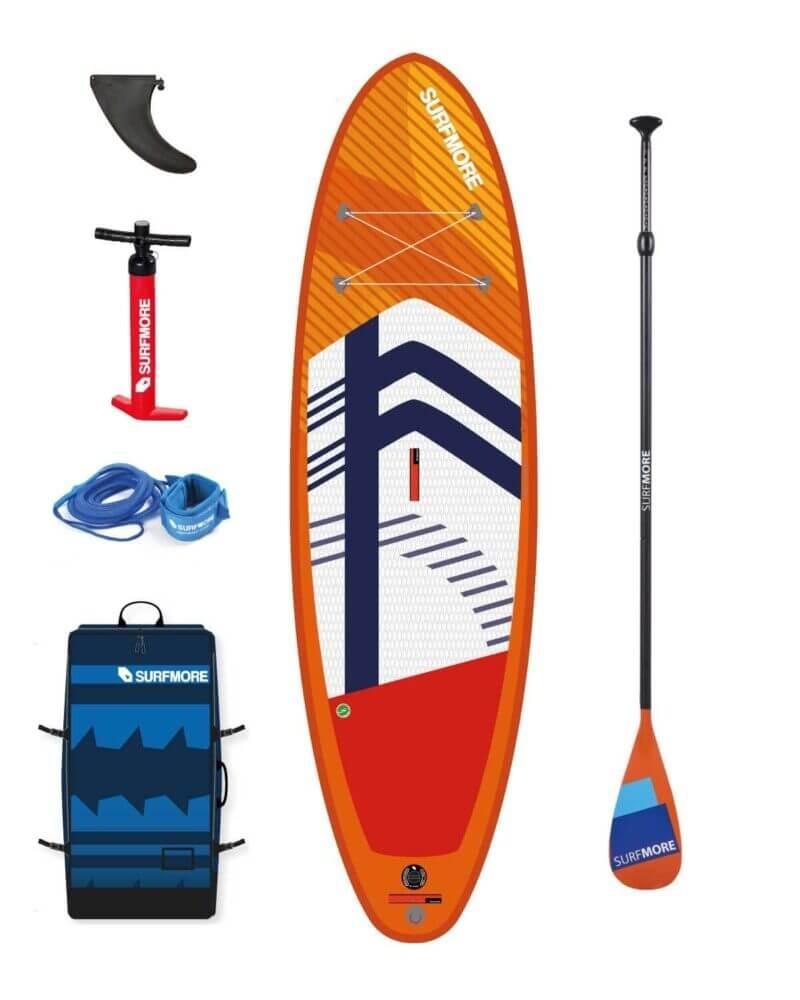 Sup board - oppustelig sup - paddleboard til børn - Surfmore