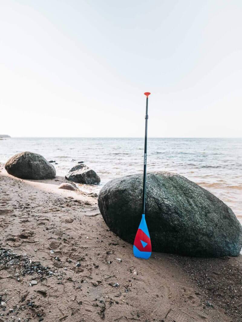 Sup paddle - Paddle til sup - Kulfiber - 3-delt - Surfmore - 2