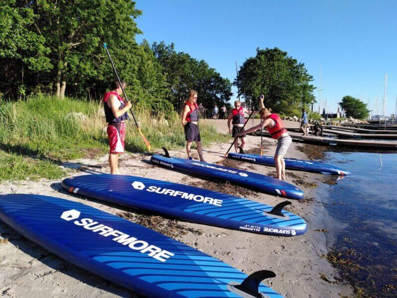 sup board - oppustelig sup - Surfmore -all round family edition - Blå - 3