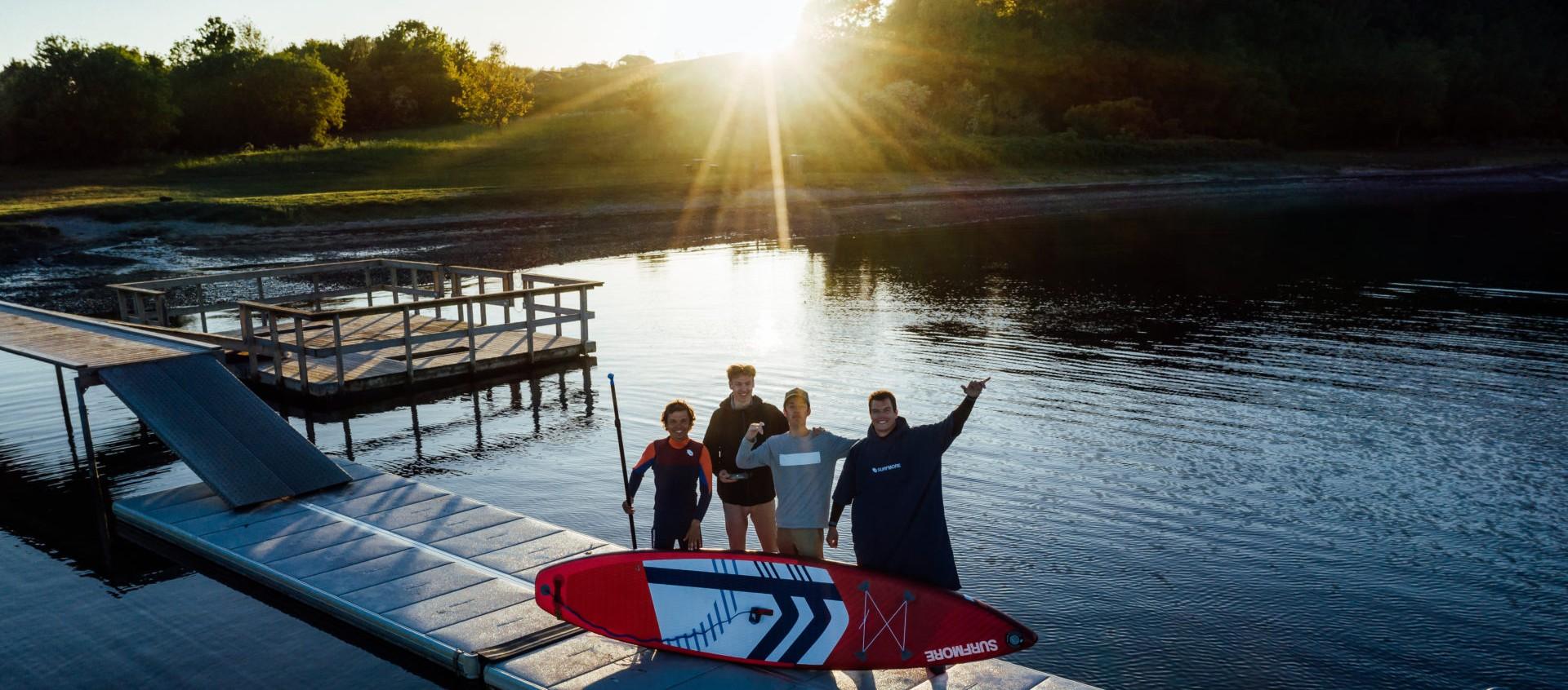 Svømmevest til voksne - vest til sup - Surfmore - 2